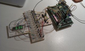Shift register example project